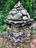 Κτήριο πετρών του Gillette Castle στοκ φωτογραφία