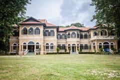 Κτήριο πηγούνι-Pracha chino-Protuguese στο σχέδιο, Phuket, Thaila Στοκ φωτογραφίες με δικαίωμα ελεύθερης χρήσης