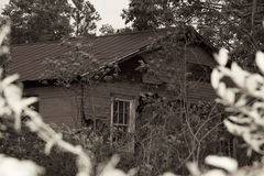 κτήριο που καταστρέφεται Στοκ Εικόνα