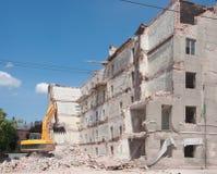 κτήριο που καταστρέφετα&io στοκ φωτογραφίες