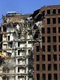 κτήριο που καταστρέφετα&io Στοκ φωτογραφία με δικαίωμα ελεύθερης χρήσης