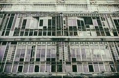κτήριο που καταστρέφετα&io Στοκ Εικόνες