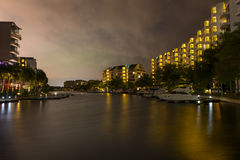 Κτήριο προκυμαιών Στοκ φωτογραφία με δικαίωμα ελεύθερης χρήσης