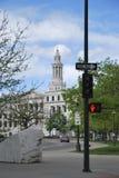 Κτήριο πόλεων και κομητειών, κοντά στο κράτος Capitol, Ντένβερ, ΗΠΑ Στοκ Φωτογραφία