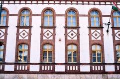 Κτήριο πόλεων στα szerencs Στοκ εικόνες με δικαίωμα ελεύθερης χρήσης