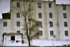Κτήριο σύστασης με windows_2 Στοκ Εικόνες