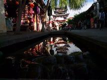 Κτήριο της Κίνας Δάλι Wuhua Στοκ εικόνες με δικαίωμα ελεύθερης χρήσης