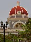 Κτήριο της Κούβας Cienfuegos Στοκ εικόνες με δικαίωμα ελεύθερης χρήσης