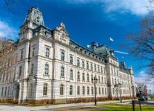 Κτήριο του Κοινοβουλίου στην πόλη του Κεμπέκ, Καναδάς Στοκ εικόνες με δικαίωμα ελεύθερης χρήσης