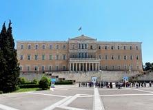 Κτήριο του Κοινοβουλίου της Αθήνας Στοκ φωτογραφία με δικαίωμα ελεύθερης χρήσης