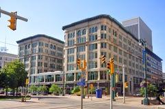 Κτήριο του Μπρίσμπαν, Buffalo, Νέα Υόρκη, ΗΠΑ Στοκ εικόνα με δικαίωμα ελεύθερης χρήσης