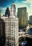 Κτήριο του Σικάγου Στοκ Φωτογραφία