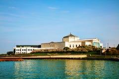 Κτήριο του John Γ. Shedd Aquarium στο Σικάγο στοκ εικόνα με δικαίωμα ελεύθερης χρήσης