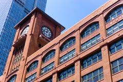 Κτήριο τούβλου στο Σικάγο Στοκ φωτογραφία με δικαίωμα ελεύθερης χρήσης