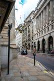Κτήριο Τράπεζας της Αγγλίας στο Λονδίνο, UK στοκ φωτογραφίες με δικαίωμα ελεύθερης χρήσης