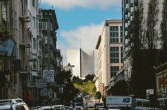 Κτήριο Τράπεζας της Αμερικής του Σαν Φρανσίσκο Στοκ Εικόνες