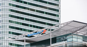 κτήριο τραπεζών της Αμερι&kap Στοκ Εικόνες
