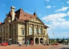 Κτήριο χαρτοπαικτικών λεσχών στη Βέρνη Ελβετός Στοκ Φωτογραφίες