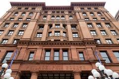 Κτήριο χρηματιστηρίων της Φιλαδέλφειας Στοκ φωτογραφία με δικαίωμα ελεύθερης χρήσης