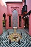 Κτήριο ύφους του Μαρόκου Στοκ εικόνα με δικαίωμα ελεύθερης χρήσης