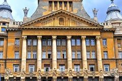 Κτήριο AZ Anker, Βουδαπέστη, Ουγγαρία Στοκ φωτογραφία με δικαίωμα ελεύθερης χρήσης