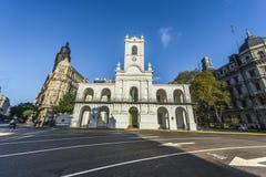 Κτήριο Cabildo στο Μπουένος Άιρες, Αργεντινή Στοκ Εικόνες