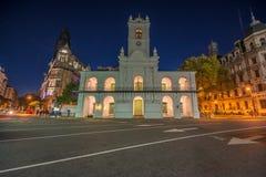 Κτήριο Cabildo στο Μπουένος Άιρες, Αργεντινή Στοκ Φωτογραφία