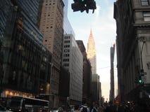 Κτήριο Chrysler - Νέα Υόρκη Στοκ φωτογραφία με δικαίωμα ελεύθερης χρήσης
