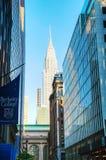 Κτήριο Chrysler στην πόλη της Νέας Υόρκης Στοκ Εικόνα