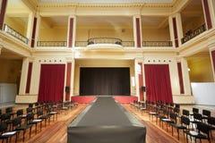 Κτήριο de l'Europe Palais, εσωτερικό θεάτρων Στοκ Εικόνες