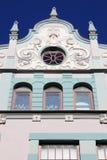 Κτήριο deco τέχνης στο στο κέντρο της πόλης του Ταλίν Στοκ εικόνα με δικαίωμα ελεύθερης χρήσης