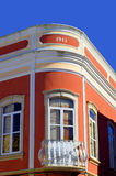 Κτήριο deco τέχνης Querenca στο Αλγκάρβε, Πορτογαλία Στοκ Εικόνα