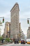 Κτήριο Flatiron σε NYC Στοκ Φωτογραφία
