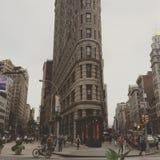 Κτήριο Flatiron στη Νέα Υόρκη, ΗΠΑ Στοκ φωτογραφίες με δικαίωμα ελεύθερης χρήσης