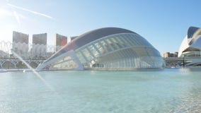 Κτήριο Hemisferic στη Βαλένθια, Ισπανία οι τέχνες μπορούν hemisferic λ les Palau reina πόλεων de επιστήμες να δουν τη Σόφια φιλμ μικρού μήκους