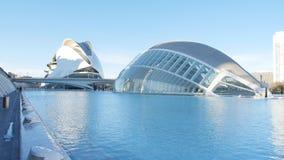 Κτήριο Hemisferic στη Βαλένθια, Ισπανία οι τέχνες μπορούν hemisferic λ les Palau reina πόλεων de επιστήμες να δουν τη Σόφια απόθεμα βίντεο