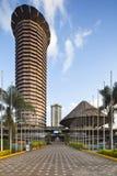 Κτήριο KICC στο Ναϊρόμπι, Κένυα, εκδοτική Στοκ Εικόνα