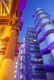 Κτήριο Lloyds και αγορά Leadenhall Στοκ φωτογραφία με δικαίωμα ελεύθερης χρήσης