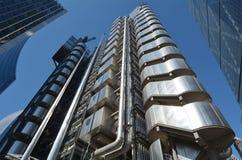 Κτήριο Lloyds - πόλη του Λονδίνου UK Στοκ Φωτογραφία
