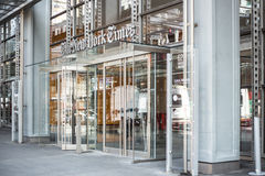 Κτήριο New York Times Στοκ Εικόνα