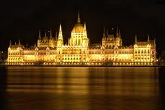 Κτήριο parlement της Βουδαπέστης Στοκ Εικόνες