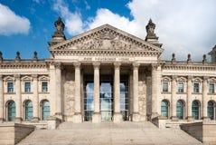 Κτήριο Reichstag στο Βερολίνο Στοκ φωτογραφία με δικαίωμα ελεύθερης χρήσης