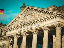 Κτήριο Reichstag berna Στοκ Φωτογραφίες