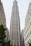 Κτήριο Rockefeller Στοκ φωτογραφίες με δικαίωμα ελεύθερης χρήσης