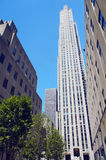 75 κτήριο Rockefeller Plaza Στοκ φωτογραφίες με δικαίωμα ελεύθερης χρήσης