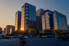 Κτήριο Sohu στο Πεκίνο, Κίνα στοκ φωτογραφίες με δικαίωμα ελεύθερης χρήσης