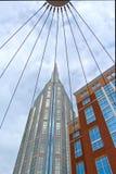 Κτήριο AT&T Nashvilles Στοκ φωτογραφία με δικαίωμα ελεύθερης χρήσης