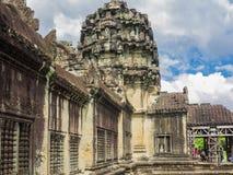 Κτήριο Wat Angkor, Καμπότζη Στοκ εικόνα με δικαίωμα ελεύθερης χρήσης