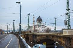 22 01 2018 - Κτήριο Yenidze που σχεδιάζεται από τον αρχιτέκτονα Martin Hammi Στοκ εικόνες με δικαίωμα ελεύθερης χρήσης