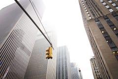 Κτίρια γραφείων πόλεων της Νέας Υόρκης Στοκ εικόνες με δικαίωμα ελεύθερης χρήσης